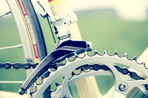 gears on a road bike