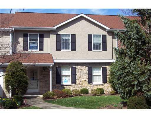 exterior of patio home in Peters Township PA