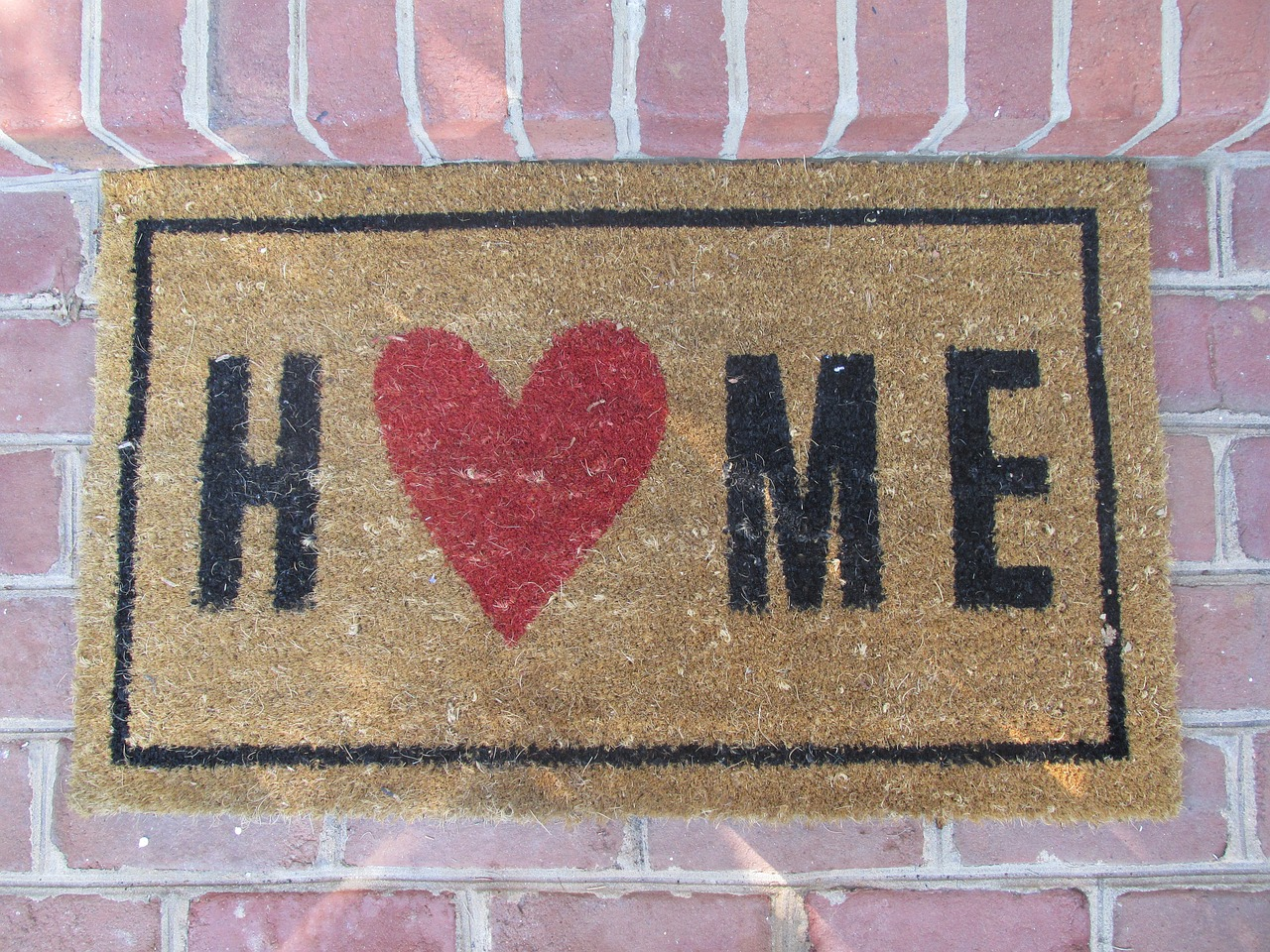 home welcome mat